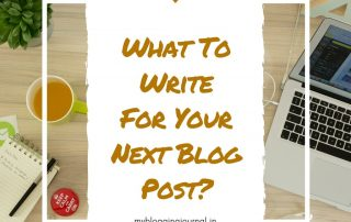 What-To-Blog-Today